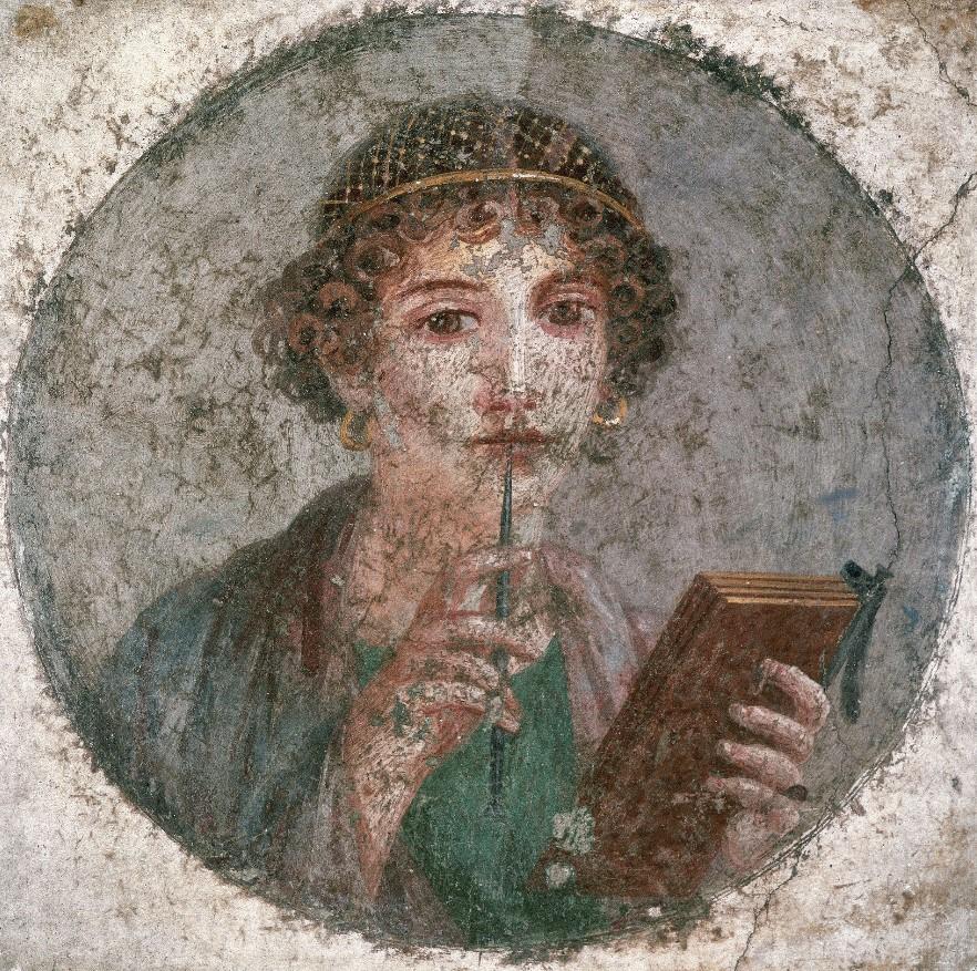 Portrait de jeune femme - Sappho